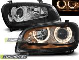Přední světla Toyota Rav4 06/94-06/00 Angel Eyes černá