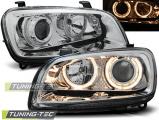 Přední světla Toyota Rav4 06/94-06/00 Angel Eyes chrom