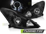 Přední světla Toyota Celica T230 99-05 Angel Eyes černá