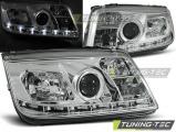 Přední světla VW Bora 09/98-07/05 chrom