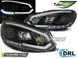 Přední světla VW GOLF 6 10/08-12  černá