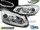 Přední světla VW GOLF 6 10/08-12  chrom
