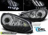 Přední světla VW Golf 6 10/08-12 TRUE DRL černá