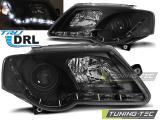 Přední světla VW Passat B6 3C 03/05-10 TRUE DRL černá