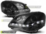 Přední světla VW Polo 9N3 4. května 09 černá