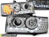Přední světla VW T4 03/90/03 Transporter chrom