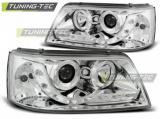 Přední světla VW T5 03/04/08/09 chrom