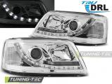 Přední světla VW T5 03/04/08/09 TRUE DRL chrom