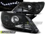 Přední světla VW Tiguan 10/07-11 černá