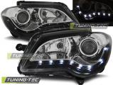 Přední světla VW Touran 06-10 černá