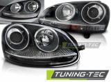 Přední světla VW Golf 5 10/03-09 SPORT černá