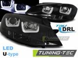 Přední světla VW Golf 7 11/12-17 U-LED černá
