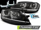 Přední světla VW Golf 7 11/12-17 černá/chrom led