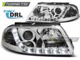 Přední světla VW Passat 3BG 09/00-03/05 TRUE DRL chrom