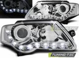 Přední světla VW Passat B6 3C 03/05-10 chrom