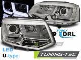 Přední světla VW T5 2010-2015  chrom led