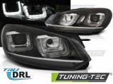 Přední světla VW Golf 6 08-12 černá/chrom led