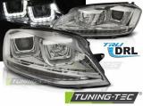 Přední světla VW Golf 7 11/12-17 chrom led
