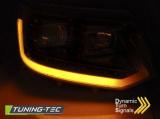 Přední světla VW T5 2010-15 černá SEQ TUNINGTEC