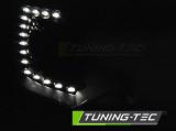Přední světla VW T5 2010-15 TRUE DRL černá TUNINGTEC