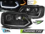 Přední světla VW T5 2010-15 TUBE černá