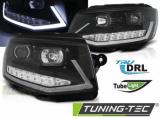 Přední světla VW T6 15-19 černá/chrom DRL