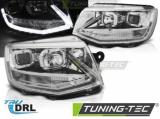 Přední světla VW T6 15-19 chrom DRL