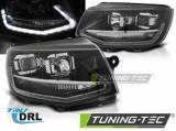 Přední světla VW T6 15-19 DRL černá