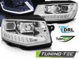 Přední světla VW T6 15-19 DRL chrom