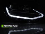 Přední světla VW T6 15-19 TUBE černá DRL SEQ TUNINGTEC