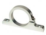 Držák externí palivové pumpy nebo filtru - celo hliníkový - průměr 50mm