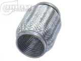 Vlnovec Boost Products 150 x 45mm nerez - s vnitřním vlnitým zesílením (interlock)