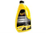 Meguiar's Ultimate Wash & Wax - luxusní, nejkoncentrovanější autošampon s příměsí karnauby a polymer