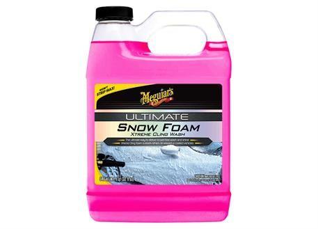 Meguiar's Ultimate Snow Foam Xtreme Cling Wash - extra hustý, pH neutrální autošampon do napěňovače