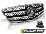 Maska Sport černá-chrom Mercedes W212 09/13