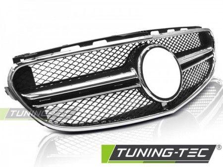 Maska Sport černá-chrom Mercedes W212 13/16 TUNINGTEC