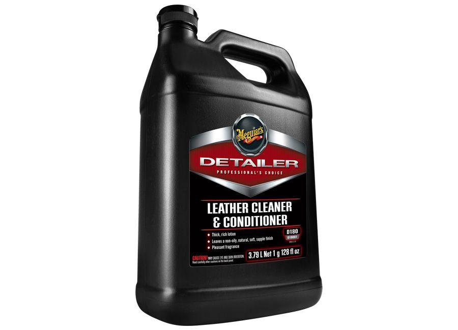 Meguiar's Leather Cleaner & Conditioner - profesionální čistič a kondicionér na kůži, 3,78 l Meguiars