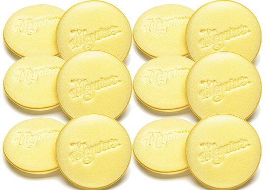 Meguiar's Soft Foam Applicator Pads - pěnové aplikátory (12 kusů) Meguiars