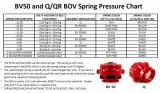 Pružina do blow off ventilu Tial Sport BV / Q / QR / QRJ - bílá 0,55 bar (8psi)