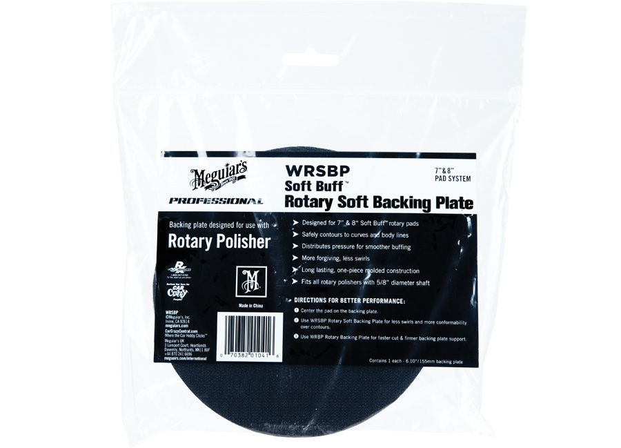 """Meguiar's Soft Buff Rotary Soft Backing Plate 6"""" / 150 mm - měkký unašeč na rotační leštičku Meguiars"""