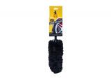 Meguiar's Supreme Wheel Brush - Medium - luxusní mikrovláknový kartáč na kola, střední, 35 cm