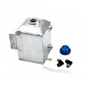 Water radiator coolant header tank - 1x vývod - objem 1l ProRacing