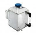 Water radiator coolant header tank - 1x vývod - objem 1l