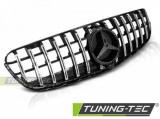 Maska Sport lesklá černá-chrom Mercedes GLC W253 15-