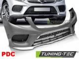 Přední nárazník Sport PDC Mercedes GLE W166 15-