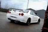 Zadní blatníky NISSAN SKYLINE R34 GTT - GTR Look