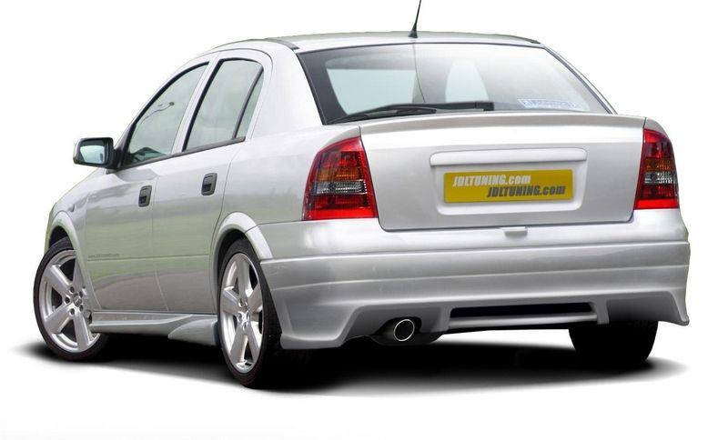 Maxtondesign Zadní nárazník OPEL ASTRA G - EXTENSION sedan
