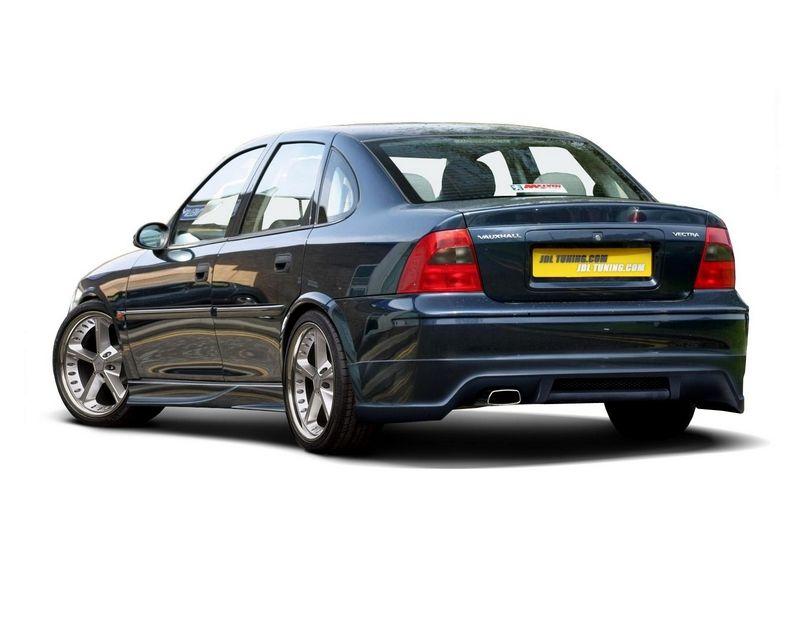 Maxtondesign Zadní nárazník OPEL VECTRA B sedan/hatchback, po faceliftu - EXTENSION