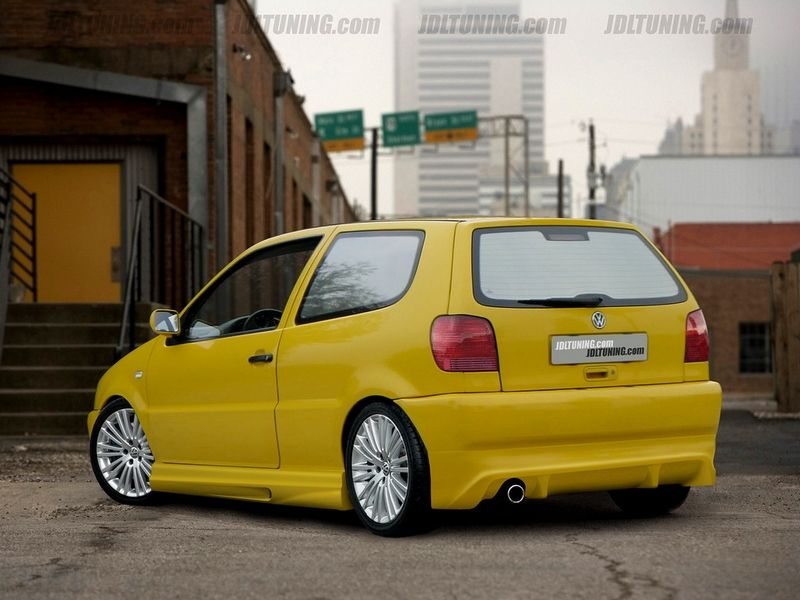 Maxtondesign Zadní nárazník VW POLO 6N - EXTENSION