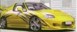 Přední nárazník Honda CRX DEL SOL all Versions 1992 - 1997